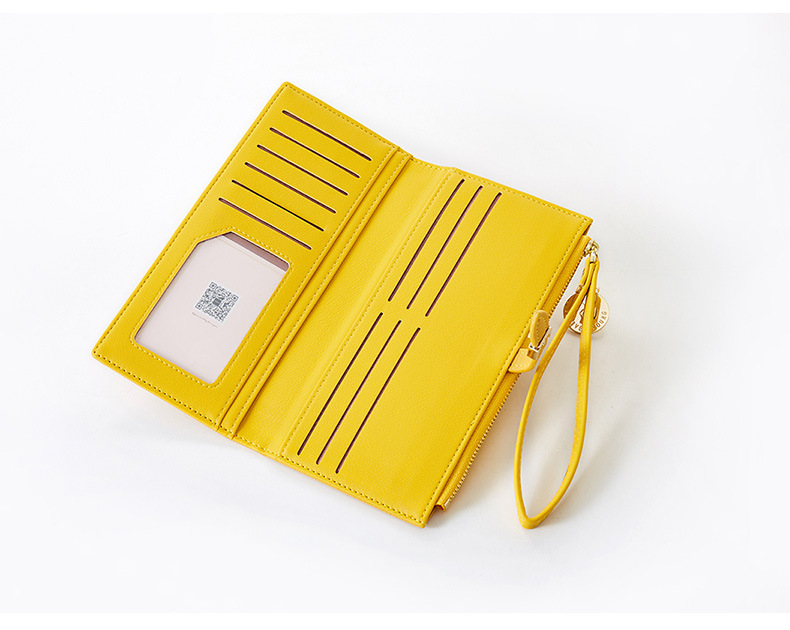Women Long Wallet Many Departments Female Wallets Clutch Lady Purse Zipper Phone Pocket Card Holder Ladies Carteras 44