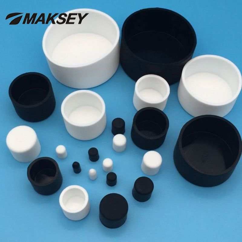 Blak Round Silicone Rubber Blanking End Cap Inserts Seal Plug Stopper 2.6~14mm