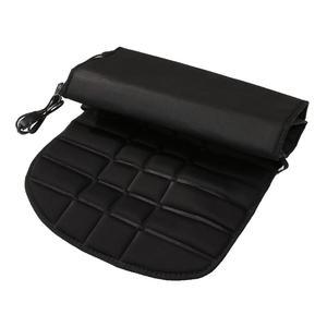 Image 5 - Coussin de siège chauffant de voiture 12V, coussin chauffant pour siège arrière électrique. Coussin de siège qui garde au chaud pour lhiver