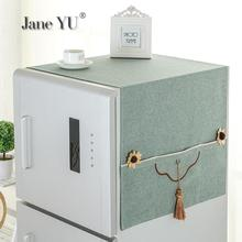 Cloth Refrigerator-Cover Washing Modern Dust-Proof Lai Double-Door Gorgeous Household