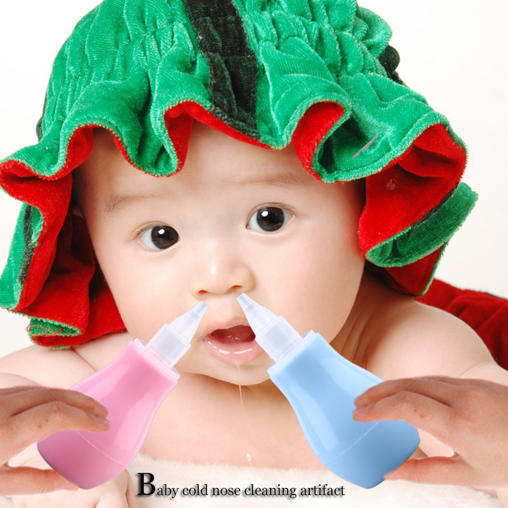 Baby Health Care Nasal Aspirator Baby Cold Infant Suction Cleaning Nose 100% Hot New