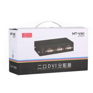 Image 4 - MT VIKI DVI ספליטר מפיץ וידאו שיתוף 2 יציאת 1 קלט כדי 2 פלט מרובה HDTV צג סינכרו תצוגת MT DV2H