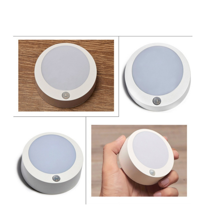 Convenient Intelligent Human Body Activation Induction Night Light Wireless Infrared Sensor LED Lamp For Closet Corridor Cabinet