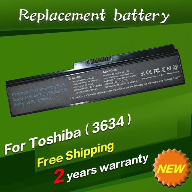 JIGU Battery For Toshiba PA3634U PA3634U-1BAS PA3634U-1BRS PA3635U-1BAM PA3635U-1BRM PA3636U-1BRL PA3638U-1BAP PA3728U-1BRS