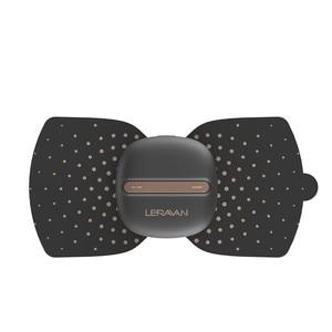 Image 3 - Youpin LF marka taşınabilir elektrik stimülatör tam vücut Relax kablosuz kas terapi masaj sihirli çıkartmalar ofis çalışanı için