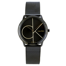лучшая цена CalvinKlein MINIMAL Series Quartz Men's and Women's Watches K3M224X1