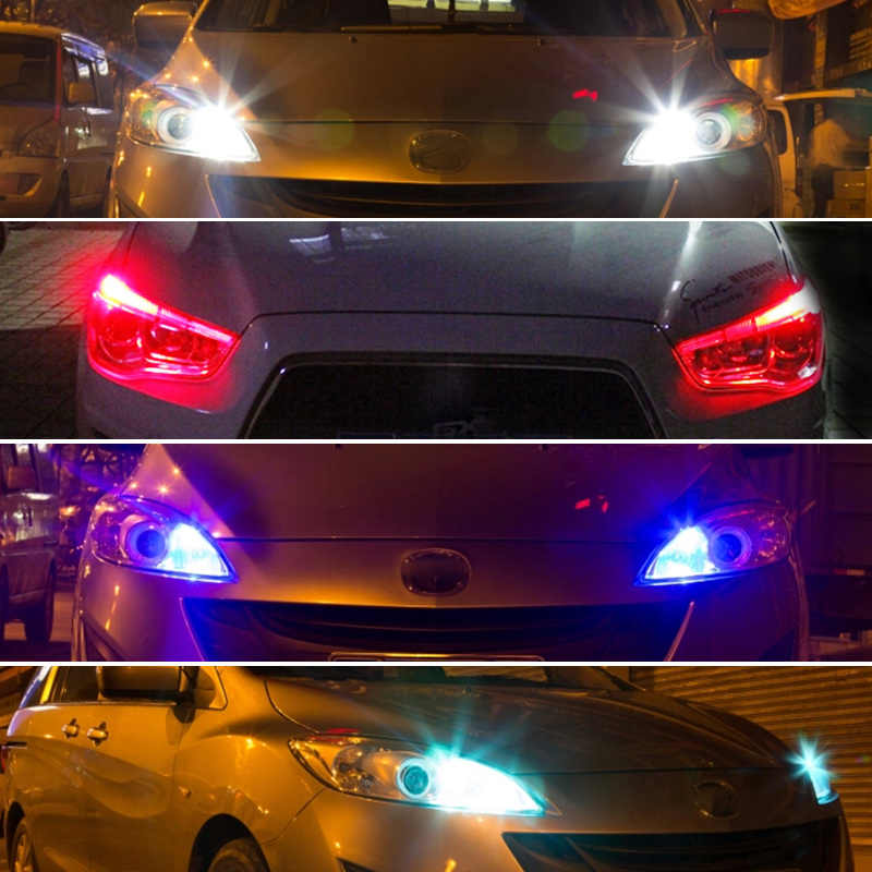 2x T10 W5W CANBUS sans erreur LED feux de stationnement latéraux feux de position ampoule pour Opel Agila Zafira Vectra Astra