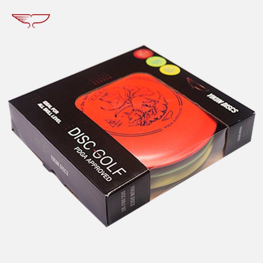 PDGA Approval Disc Golf Set Beginner Golf Disc Set Tiger Line HU-Driver KUI-Mid-range GUI-Putter 11.11