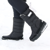 Snow Boots 2018 Brand Women Winter Boots Mother Shoes Antiskid Waterproof Flexible Women Fashion Casual Boots Plus Size