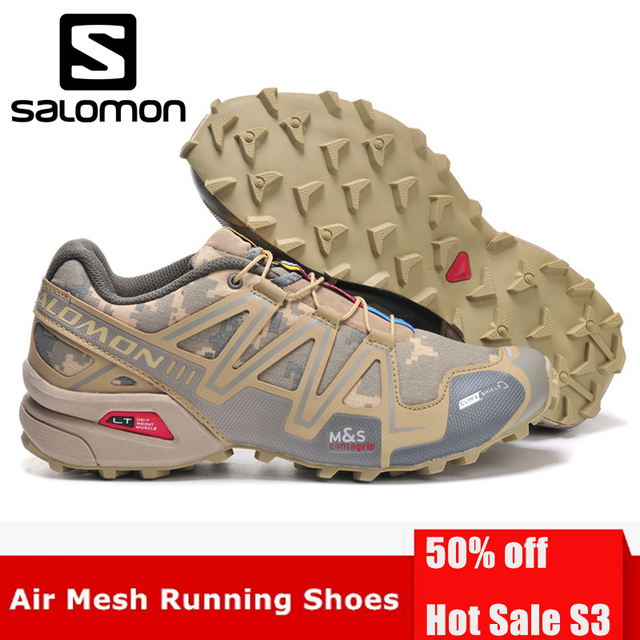 95347148b15 US $17.4 51% OFF|Salomon Speedcross 3 CS Outdoor Sports Men Shoes  Breathable Athletics Solomon Running Shoes For Men Speed cross Fencing  Shoes-in ...