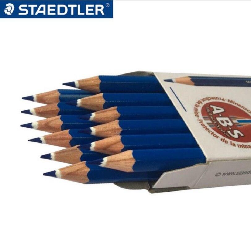 Купить staedtler 14450 цветных карандашей красный/синий стираемый карандаш