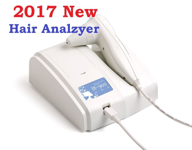 2017 Newest 8.0 MP High Resolution Digital CCD USB Multifunction UV Hair Analyzer Hair Camera Hairscope Hair Diagnosis DHL Free