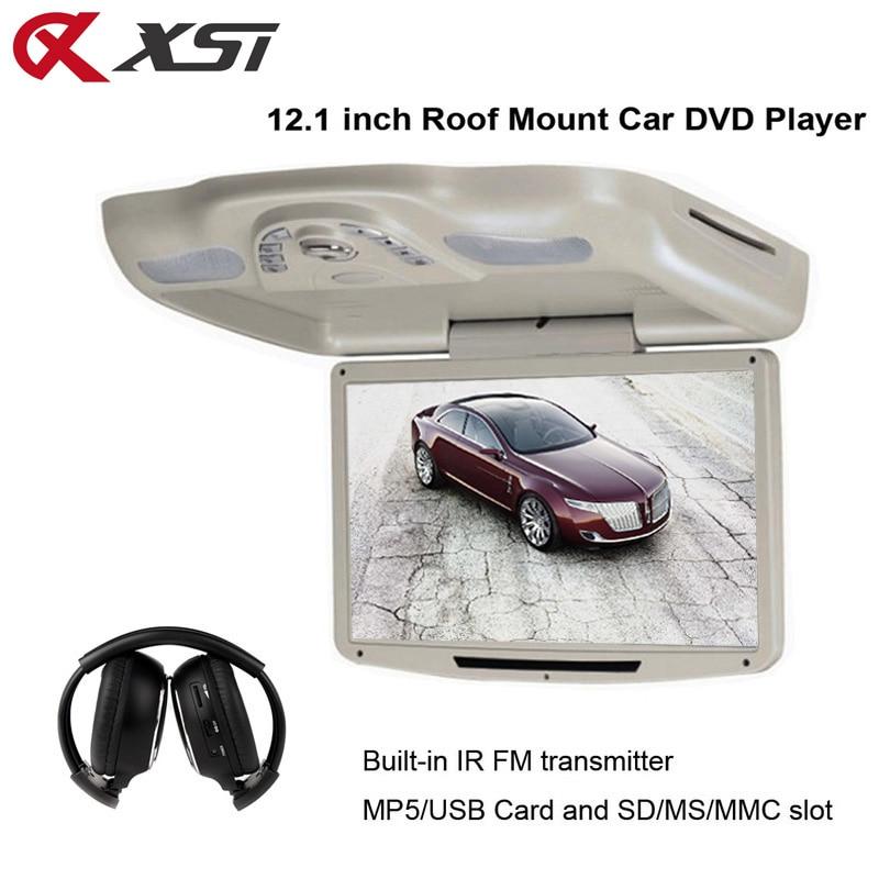 XST 12,1 colio automobilio stogo dangtelis žemyn TFT LCD 1280 * 800 - Automobilių Elektronika