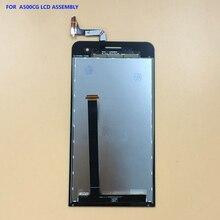 Ограниченное предложение Для Asus Zenfone 5 zenfone5 a500cg A501CG t00j t00f t00p Сенсорный экран планшета Панель Стекло + ЖК-дисплей Дисплей Мониторы сборки
