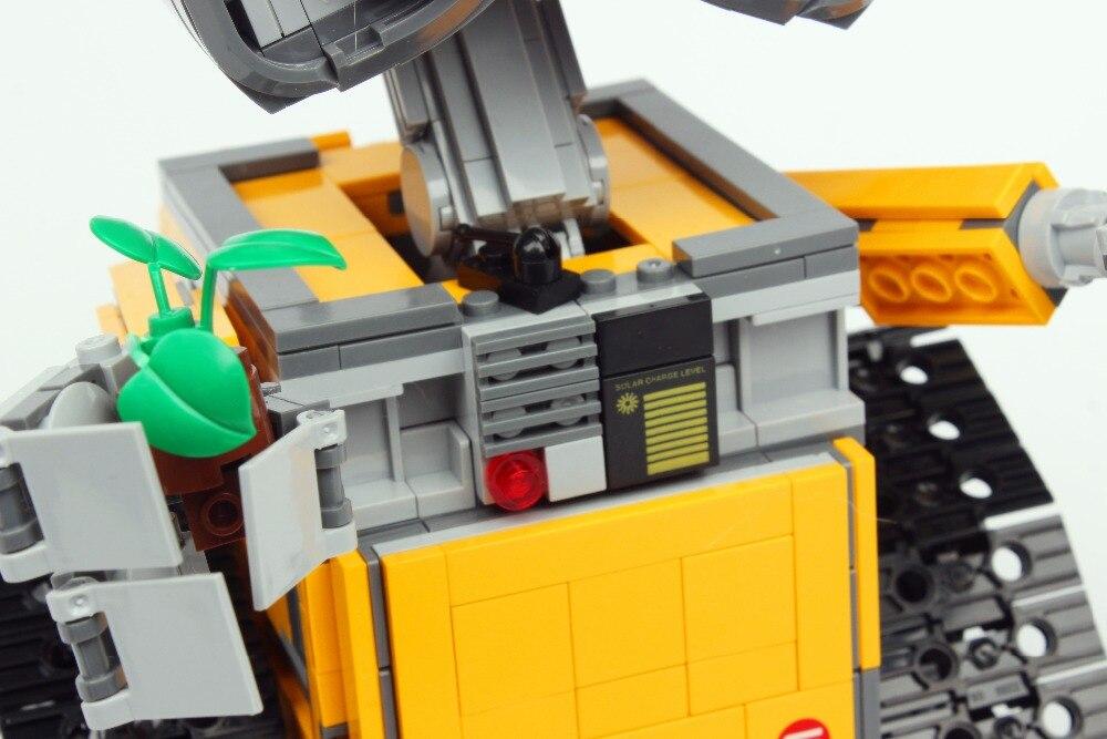 16003 Technic film série idée Robot mur E blocs de construction jouets 687 pièces éducatifs enfants cadeaux Compatible Bela - 3