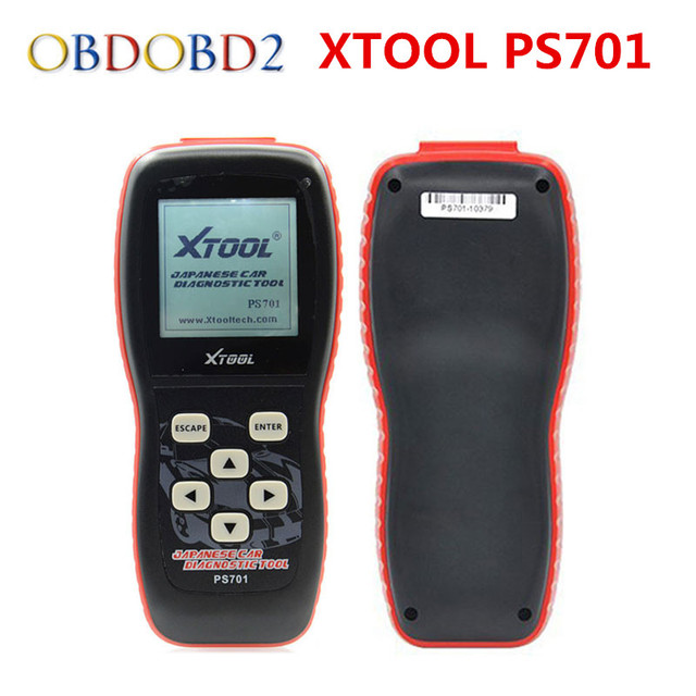 Special Offers 100% Original Xtool PS701 Professional Diagnostic Tool OBD2 For Japanese Cars JP Diagnostic Tool PS 701 Free Update Online