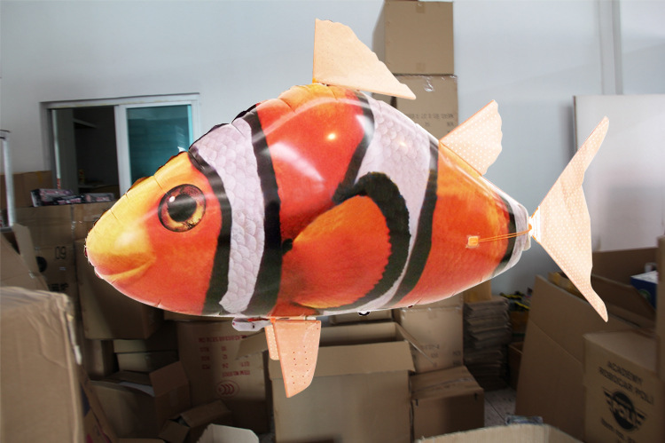 Online get cheap shark helium alibaba group for Flying fish balloon