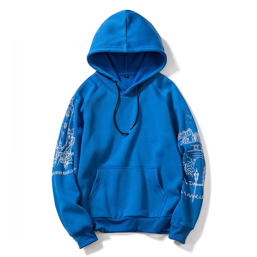 FGKKS Print Men's Hoodies Sweatshirts Autumn Men Hip Hop Fashion Casual Male Hoodies Sweatshirts EU Size 3