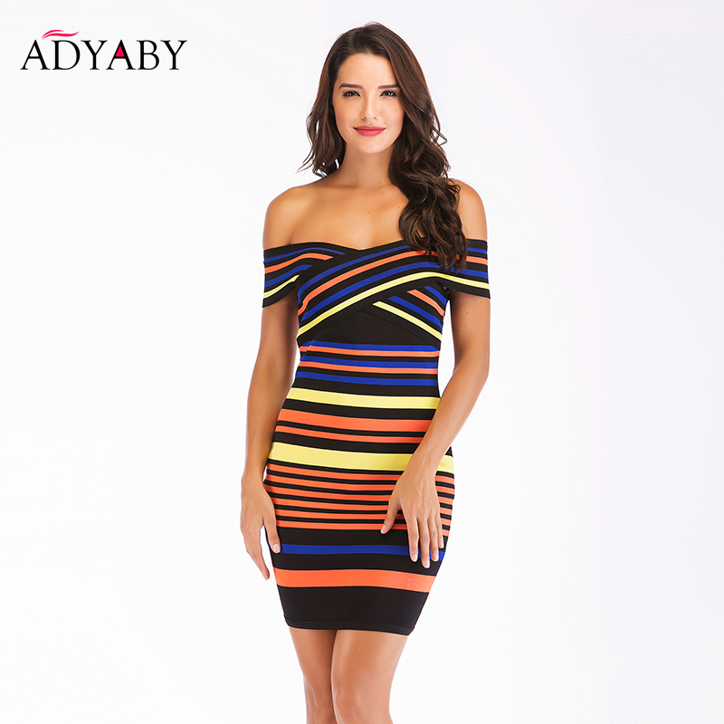 Ancient rome striped bodycon summer dress guide quincy