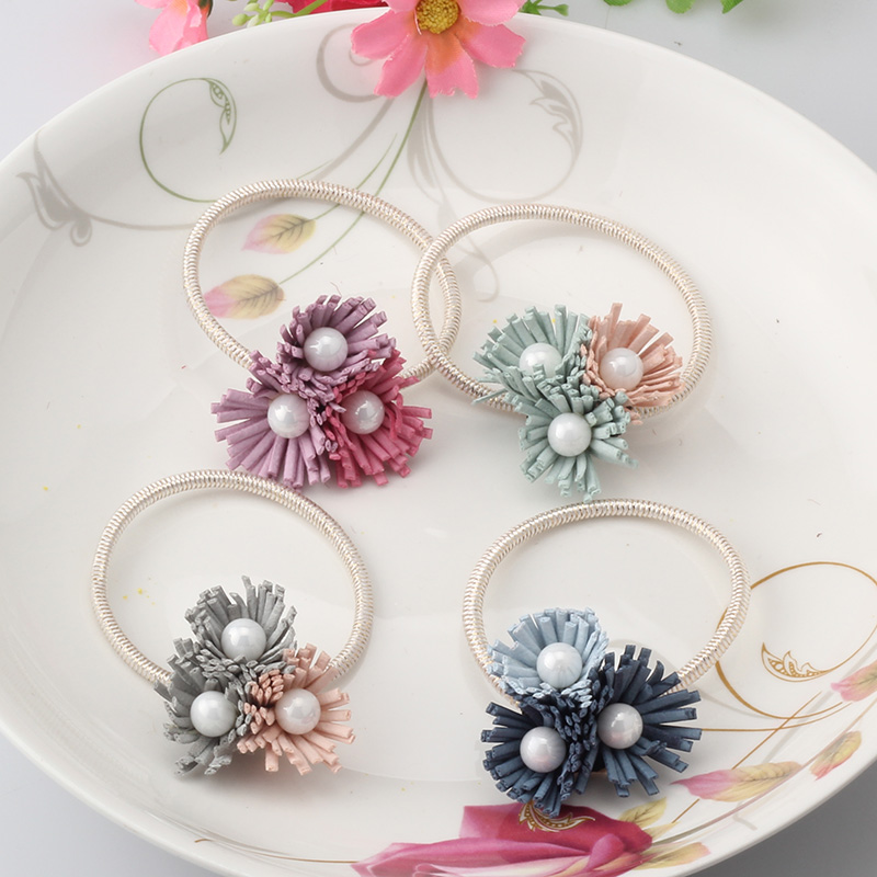 women summer style hair accessories handmade 3 pearls. Black Bedroom Furniture Sets. Home Design Ideas
