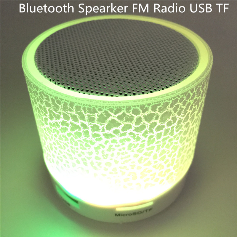 Wireless Bluetooth Speaker LED TF USB Subwoofer Loudspeakerss