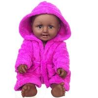 50 Inch Reborn Baby Doll Full Body Silicone vinyl 50cm Realistic Black Skin Baby boy doll Kid Birthday Gift bebes reborn