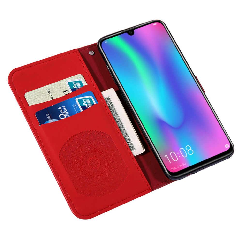 Оригинальный Официальный чехол для Huawei P9 P10 P20 pro P30 lite Y6 Y7 2019 Honor 7A 8A 8X mate 20 lite кожаный чехол-кошелек для телефона