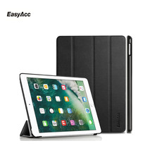 Case for New iPad 9.7 inch 2017, Easyacc Ultra Slim PU Smart Cover with Magnet Auto Sleep Wake-up / Stand For 2017