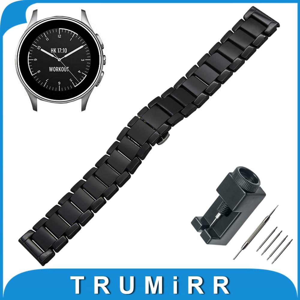 22mm Vollkeramik Uhr Band für Vector Luna/Meridian, für xiaomi smartwatch huami amazfit...