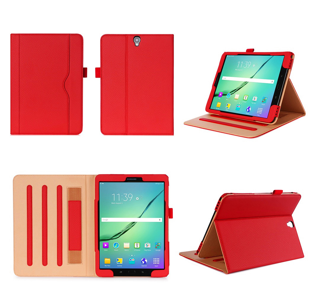 For Samsung Galaxy Tab S3 9.7'' T820 Tablet Case Flip Leather Cover For Galaxy Tab S3 9.7'' T820 Slim Stand Capa Funda+Stylus ultra thin smart flip pu leather cover for lenovo tab 2 a10 30 70f x30f x30m 10 1 tablet case screen protector stylus pen