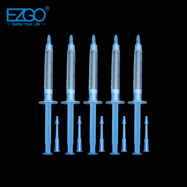 EZGO 3 ml 16% HP Dental Zahnweiß gel Spritze Mint Geschmack MSDS ...
