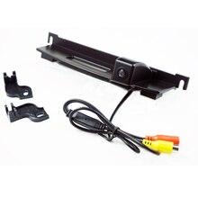 Автомобильная камера заднего вида парковки вид системы резервного копирования Реверсивный камера заднего вида для Nissan Tiida багажника Ручка камера парковки ночное видение