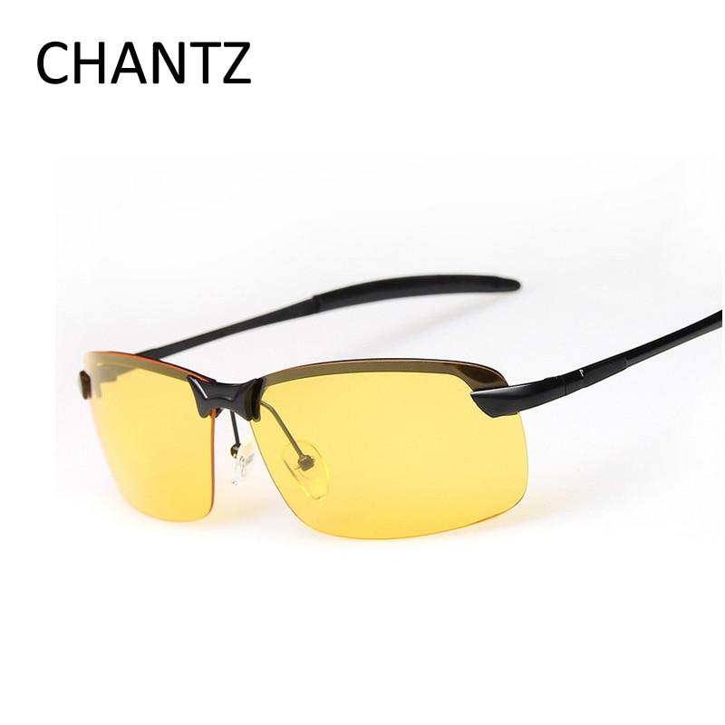 c79e053f367d2d Night Vision Glasses Men Women Polarized Driving Sunglasses With Aluminium  Magnesium Alloy Frame UV400 Lunette De Soleil Homme