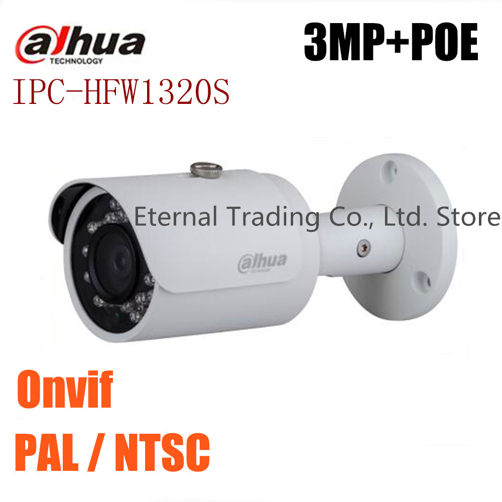 ФОТО Dahua Original English version IPC-HFW2325S-W Replace IPC-HFW1320S 3MP 1080P POE Onvif outdoor IR Network CCTV security Camera