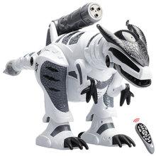 Робот динозавр с дистанционным управлением ходящий пение электронный