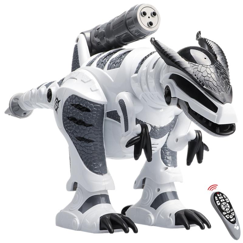 Dinosaure robots marche dinosaures électronique dinosaurio jouets interactive à distance jouets Interactifs Robots jouet RC robot