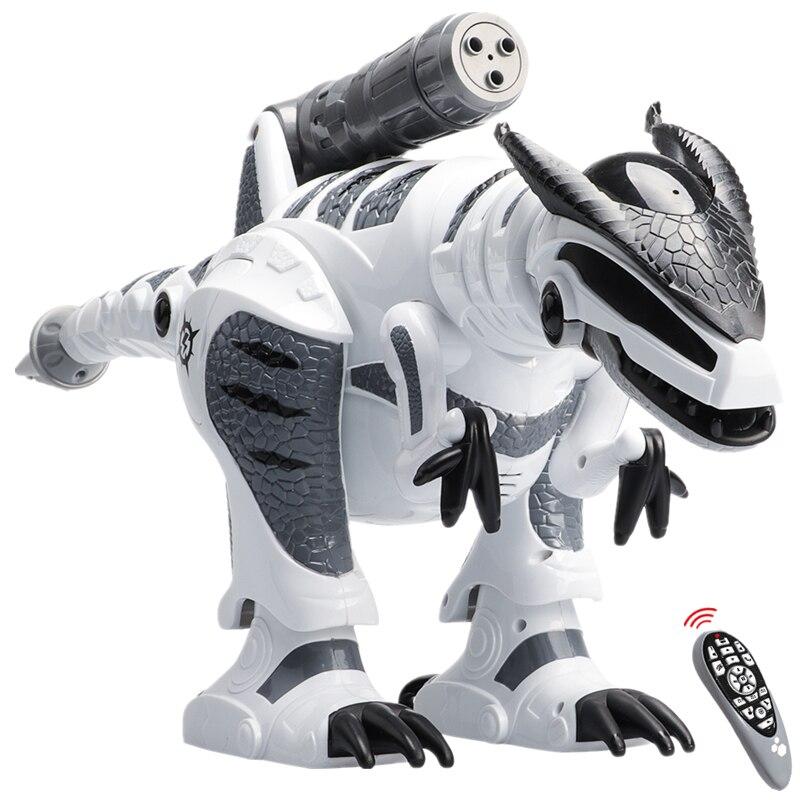 التحكم عن بعد ديناصور الروبوتات المشي الغناء الإلكترونية Dinosaurio اللعب التفاعلية RC الروبوتات لعب للأطفال الأولاد-في حيوانات إلكترونية من الألعاب والهوايات على  مجموعة 1
