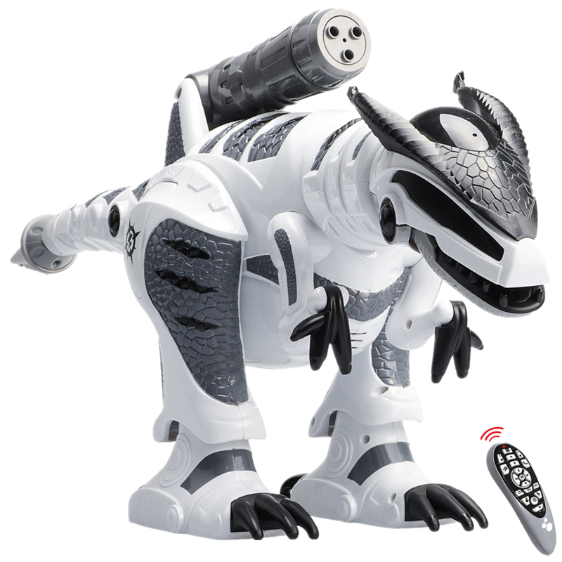 Remote Control Dinosaur Robots Walking Singing Electronic Dinosaurio Toys Interactive RC For Kids Boys