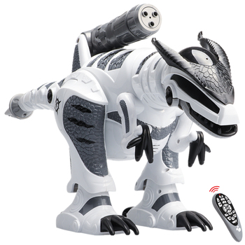 Remote Control Dinosaur Robots Walking Singing Electronic Dinosaurio Toys Interactive RC Robots Toys For Kids Boys face change recording voice change smart robots voice control educational interactive toys rc robots for children kids