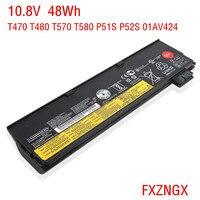 FXZNGX Genuine 10.8V 48Wh 61+ Laptop Battery for Lenovo ThinkPad T470 T480 T570 T580 P51S P52S 01AV424 01AV423 01AV422