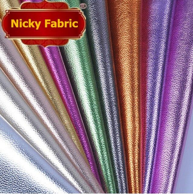 Tecidos de Couro sintético PVC Brilho papel de parede para Decoração de  Couro Artificial do PLUTÔNIO 050a837fc182c