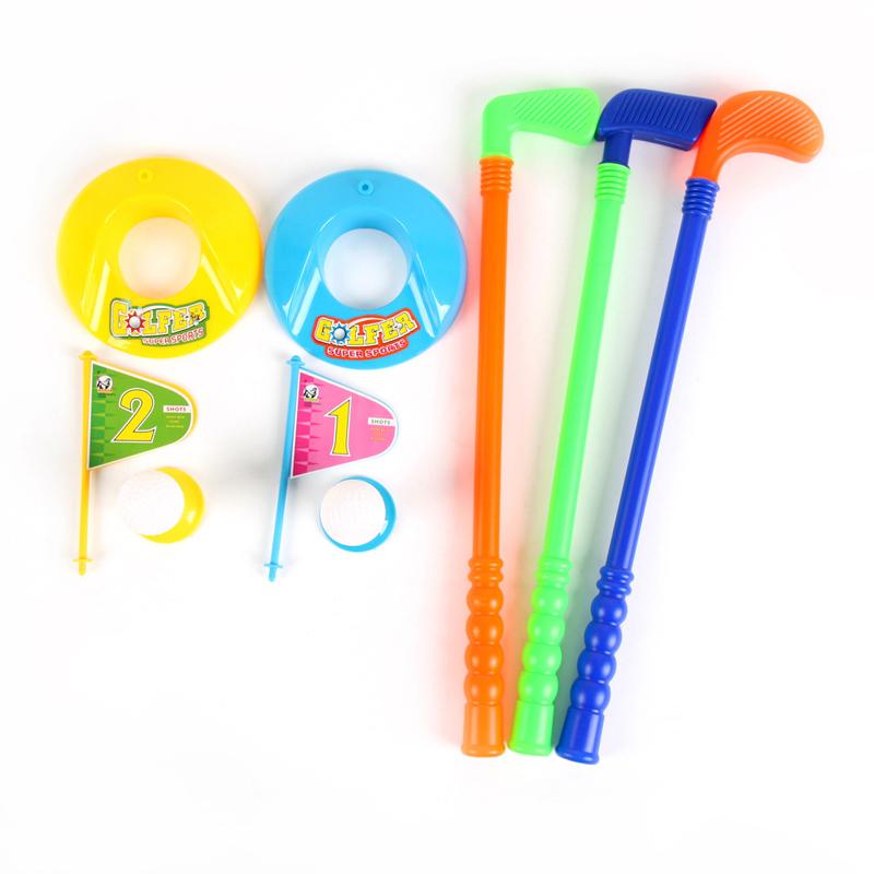 pelotas de golf conjunto diversin al aire libre deportes de plstico juguetes entre padres