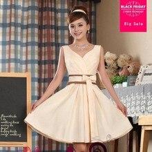 Compara Precios En Vestido Color Champagne Compra Vestido