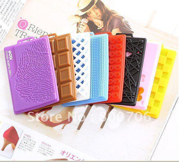 hot fashion creative silicone card holder name card case