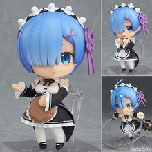Re Life In A Different World From Zero Rem 663 Nendoroid Action Figure PVC toys Collection