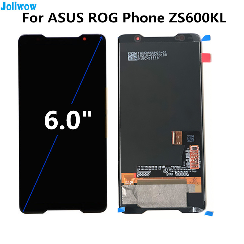 6 0 quot For ASUS ROG Phone ZS600KL LCD display Touch screen Digitizer Assembly for phone Asus ZS600KL LCD in Mobile Phone LCD Screens from Cellphones amp Telecommunications