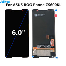 6.0 For ASUS ROG Phone ZS600KL LCD display+Touch screen Digitizer Assembly for phone  Asus
