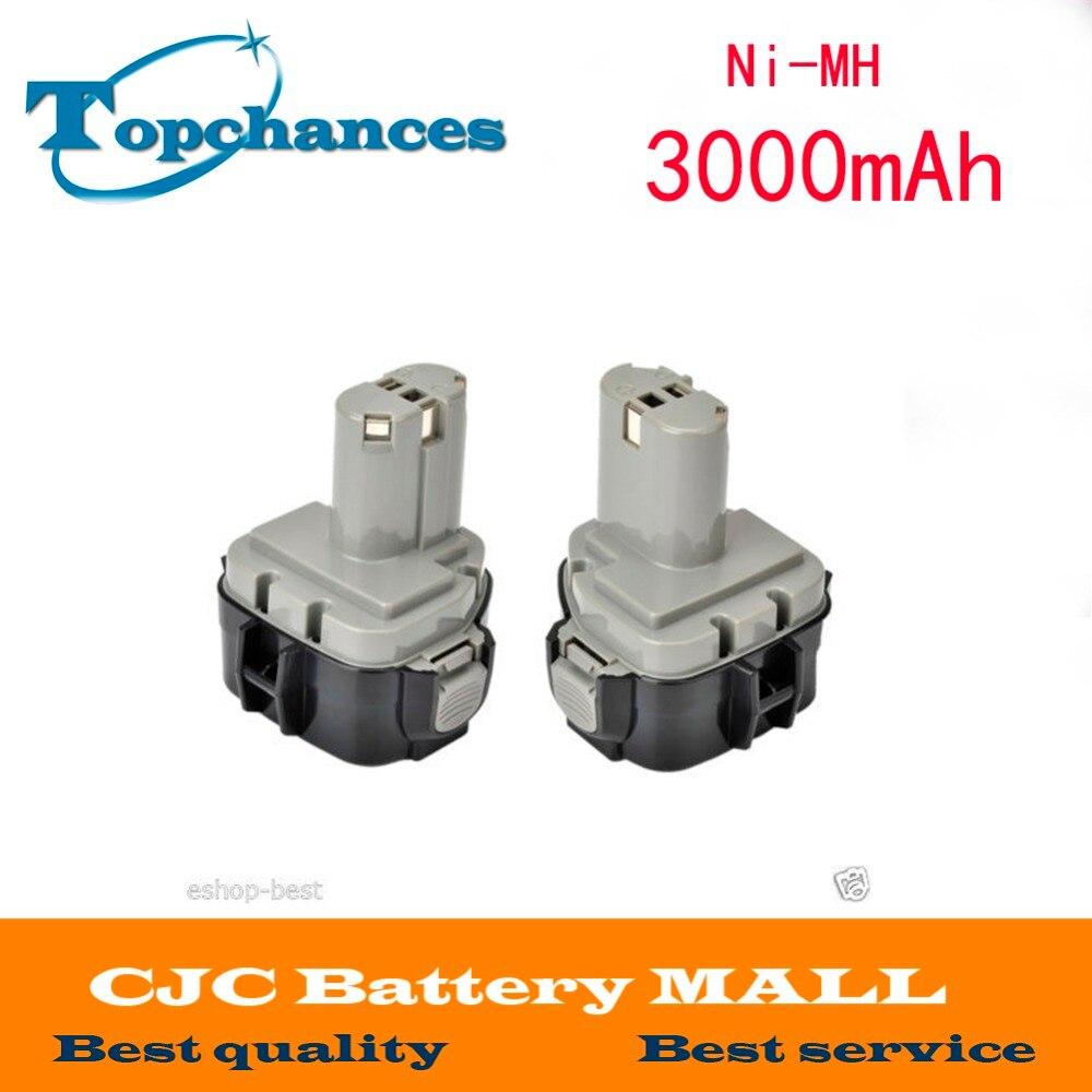 2x 3000mAh 12V Battery For MAKITA 1234 1233 6223D 6980FD 12 Volt Cordless Drill