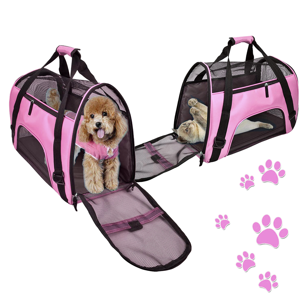 Travel Small Dog Backpack Carrier Handbag 12
