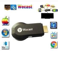 D'origine Wecast Miracast Dongle WIFI HDMI 1080 P En Streaming à la TÉLÉVISION Sans Fil Affichage Streamer Smart TV Bâton